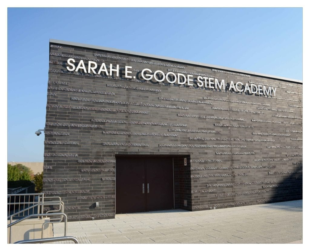 chicago masonry construction sarah e good stem academy south side school